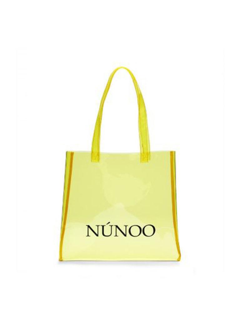 Núnoo Núnoo shopper transparent yellow small