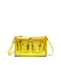 Núnoo Núnoo Stine bag transparent yellow large