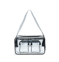Núnoo Núnoo Ellie bag transparent black large