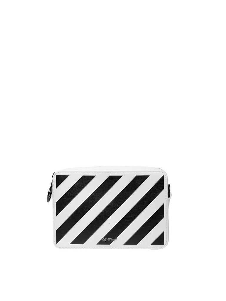 Off-White OFF-WHITE Diag fanny pack white