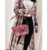 Núnoo Núnoo Ellie bag transparent pink large