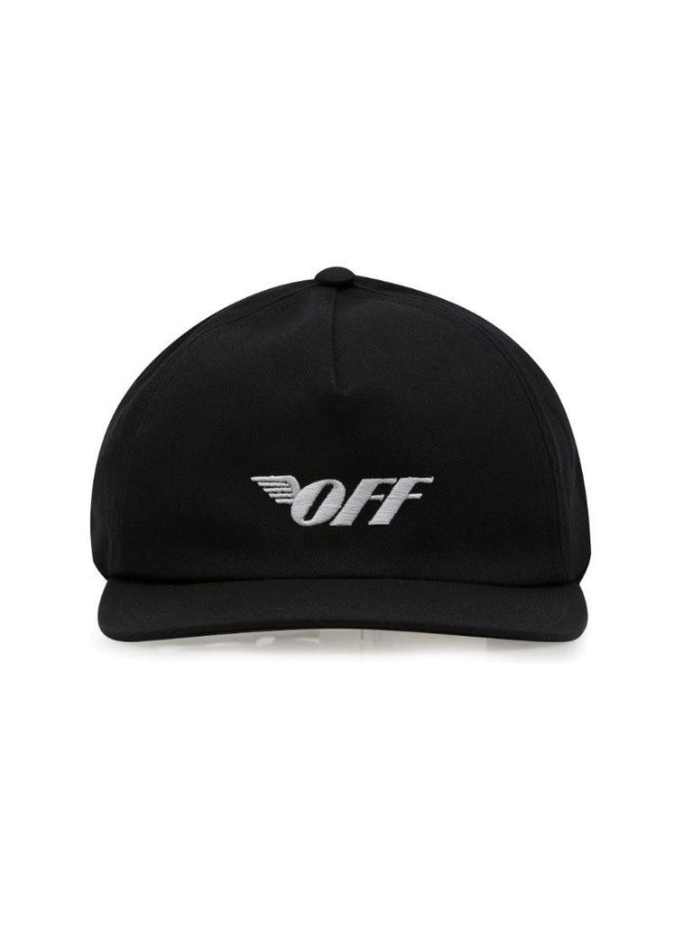 Off-White OFF- WHITE pet met off wing zwart