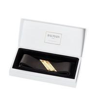 Balmain Hair Couture Balmain Hair Couture leather hair band black gold