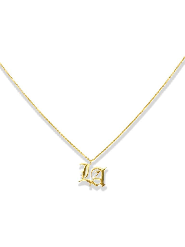La Sisters LA Sisters LA necklace gold