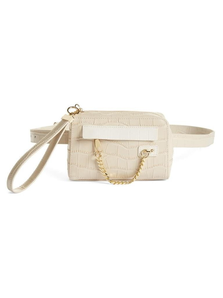 8 Other Reasons 8 Other Reasons x Jill Jacobs fanny pack bone