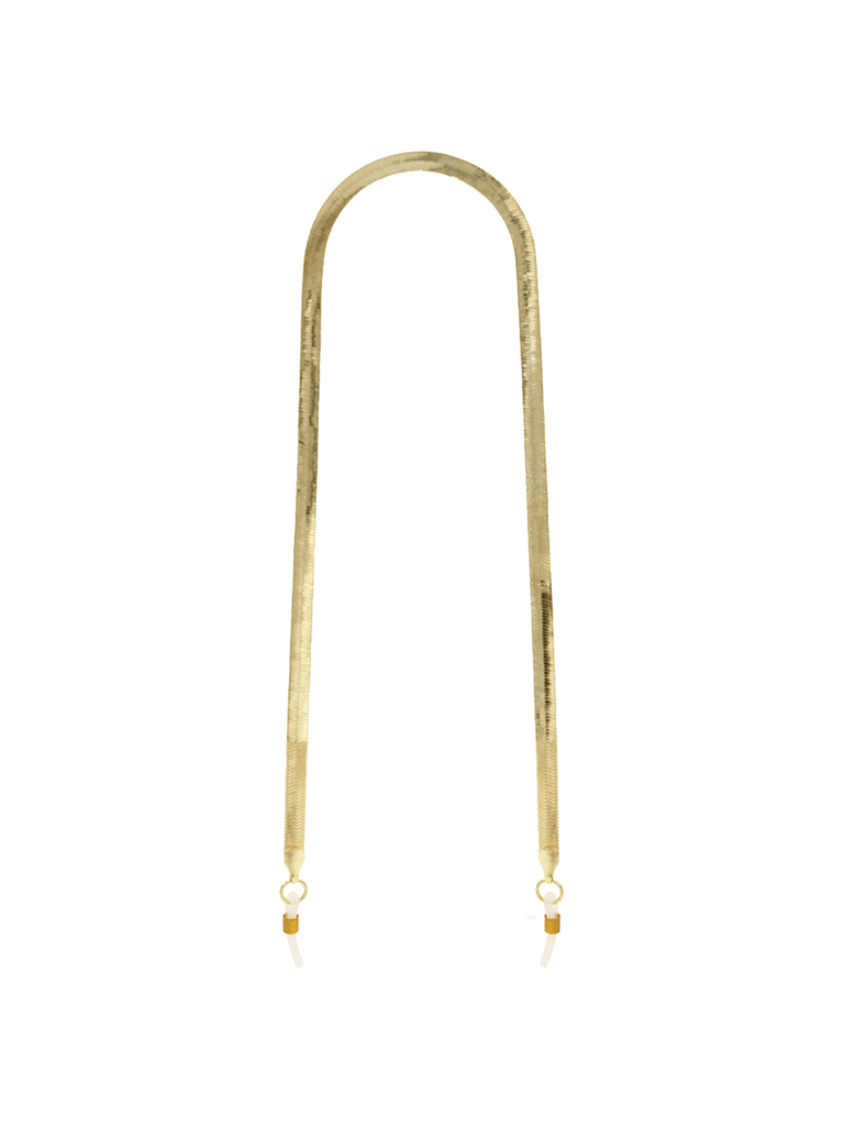 8 Other Reasons 8 Other Reasons x Jill Jacobs zonnebril schakelketting goud