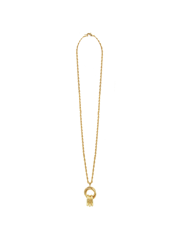 8 Other Reasons 8 Other Reasons x Jill Jacobs link chain with gold charms