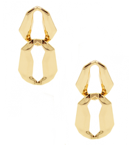 8 Other Reasons 8 Other Reasons x Jill Jacobs Lara dusters earrings gold