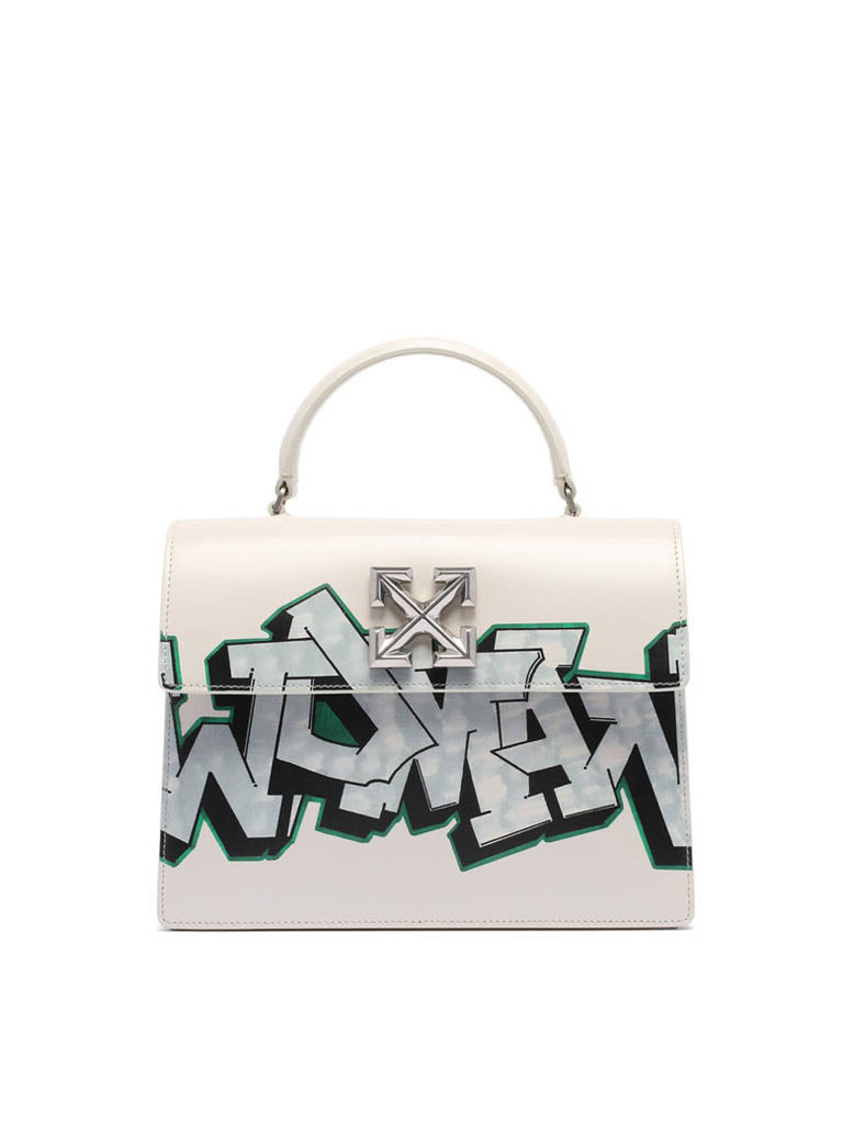 Off-White OFF-WHITE Jitney 2.8 met graffiti opdruk wit