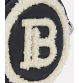 Balmain Balmain sheerling mini logo crossbody bag black