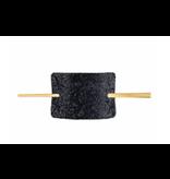 Balmain Hair Couture Balmain Hair Limited Edition Crystal Barrette zwart