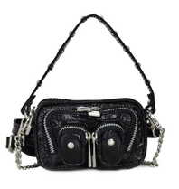 Núnoo Núnoo Molly candy bag with silver details black