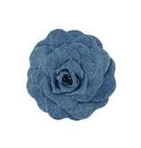 Philosophy Di Lorenzo Serafini Philosophy Di Lorenzo Serafini flower brooch blue