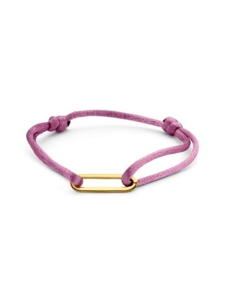 Just Franky Just Franky Bracelet 1 Link goud
