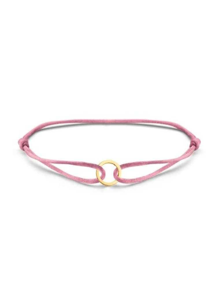 Just Franky Just Franky Iconic Bracelet Round Cord goud