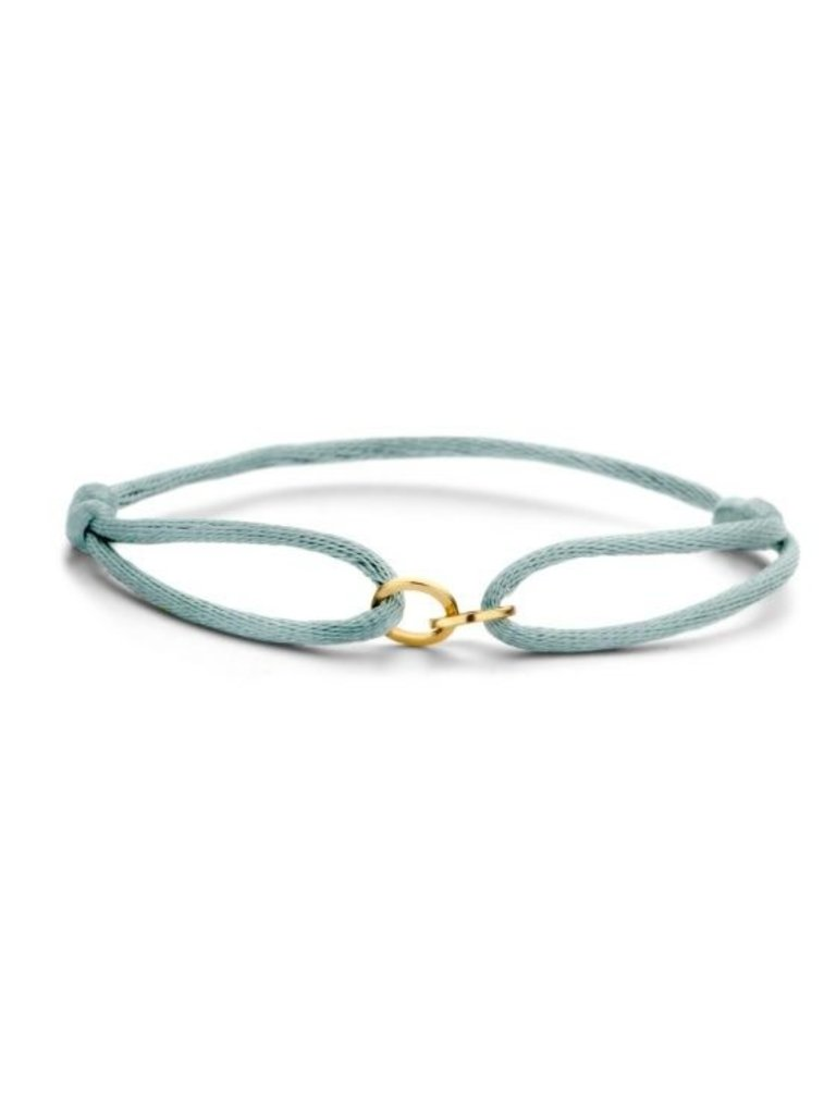Just Franky Nur Franky Iconic Armband Double Open Circle Gold