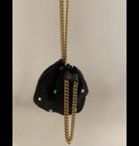 Philosophy Di Lorenzo Serafini Philosophy Di Lorenzo Serafini crossbody bag with stones and chain black