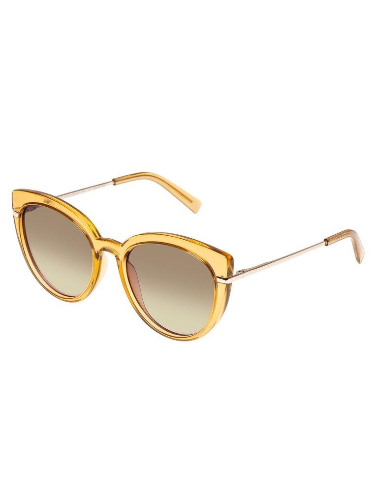 Le Specs Le Specs Promicuous zonnebril blonde