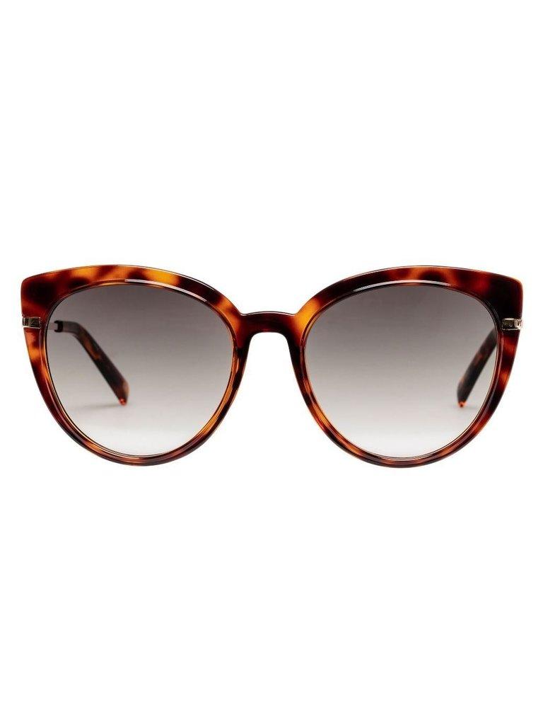 Le Specs Le Specs Promiscuous zonnebril tortoise