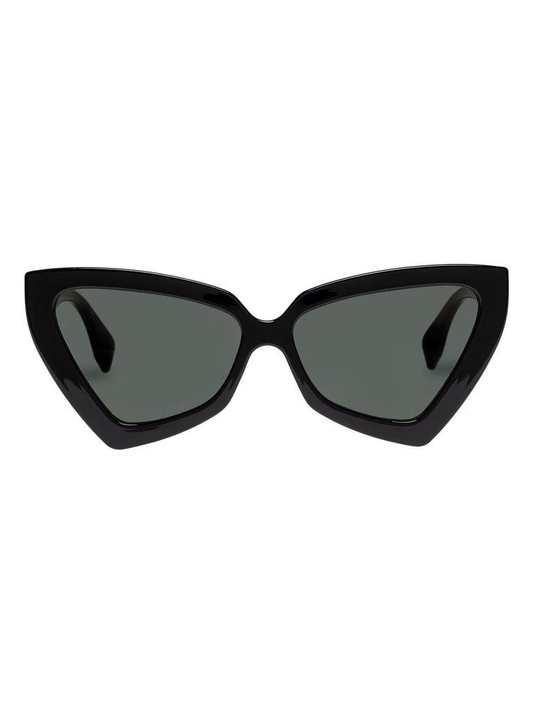 Le Specs Le Specs Rinky Dinky Sonnenbrille schwarz