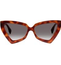 Le Specs Le Specs Rinky Dinky zonnebril tortoise