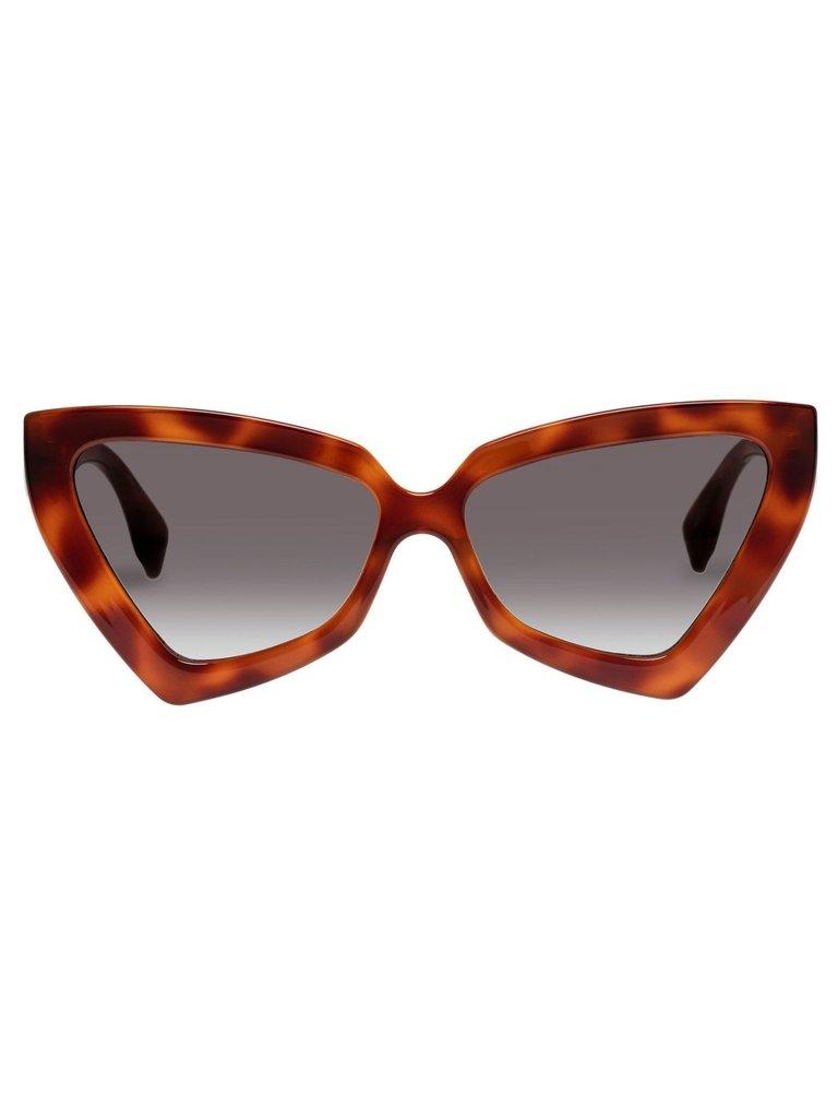 Le Specs Le Specs Rinky Dinky Sonnenbrillenschildkröte