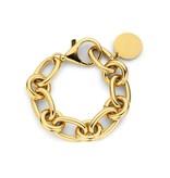 Souvenirs de Pomme Souvenirs de Pomme Lima medium chain armband goud
