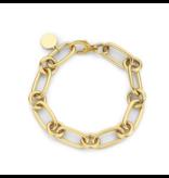 Souvenirs de Pomme Souvenirs de Pomme Lima small chain armband goud