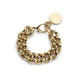 Souvenirs de Pomme Souvenirs de Pomme Gourmet chain small armband goud