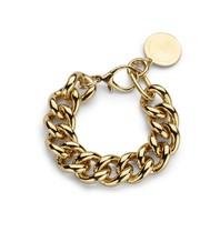 Souvenirs de Pomme Souvenirs de Pomme Gourmet chain small bracelet gold