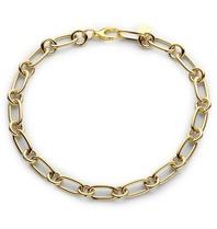 Souvenirs de Pomme Souvenirs de Pomme Zeitlose Lima kleine goldene Halskette
