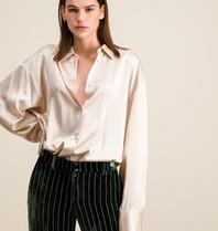 DMN Paris DMN Paris Chloe silk blouse cream