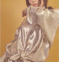 DMN Paris DMN Paris Chloe silk blouse gold