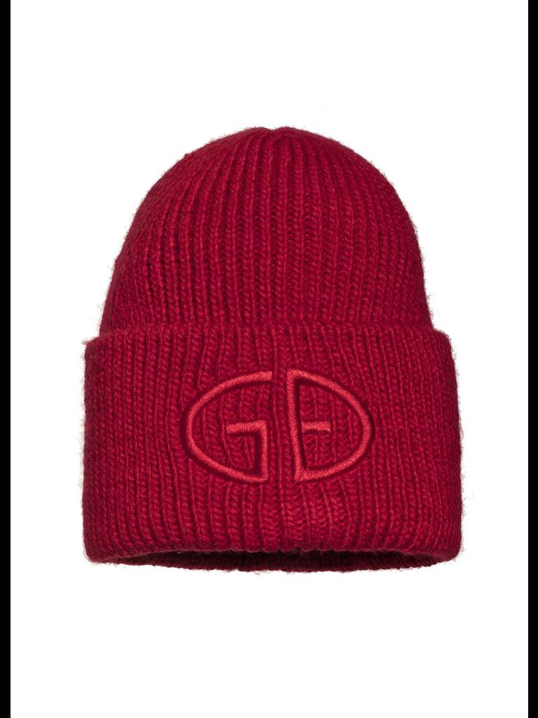Goldbergh Goldbergh Valerie beanie with logo red