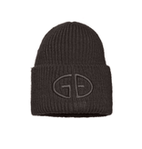 Goldbergh Goldbergh Valerie beanie with dark green logo