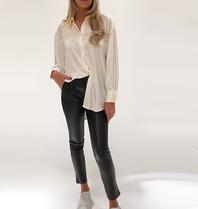 DMN Paris DMN Paris Chloe silk blouse ecru