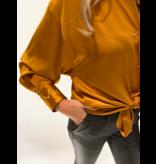 DMN Paris DMN Paris Chloe silk blouse orange