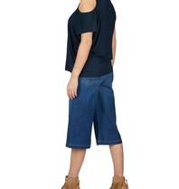 Frame Denim Frame Denim Le Gaucho culotte blau