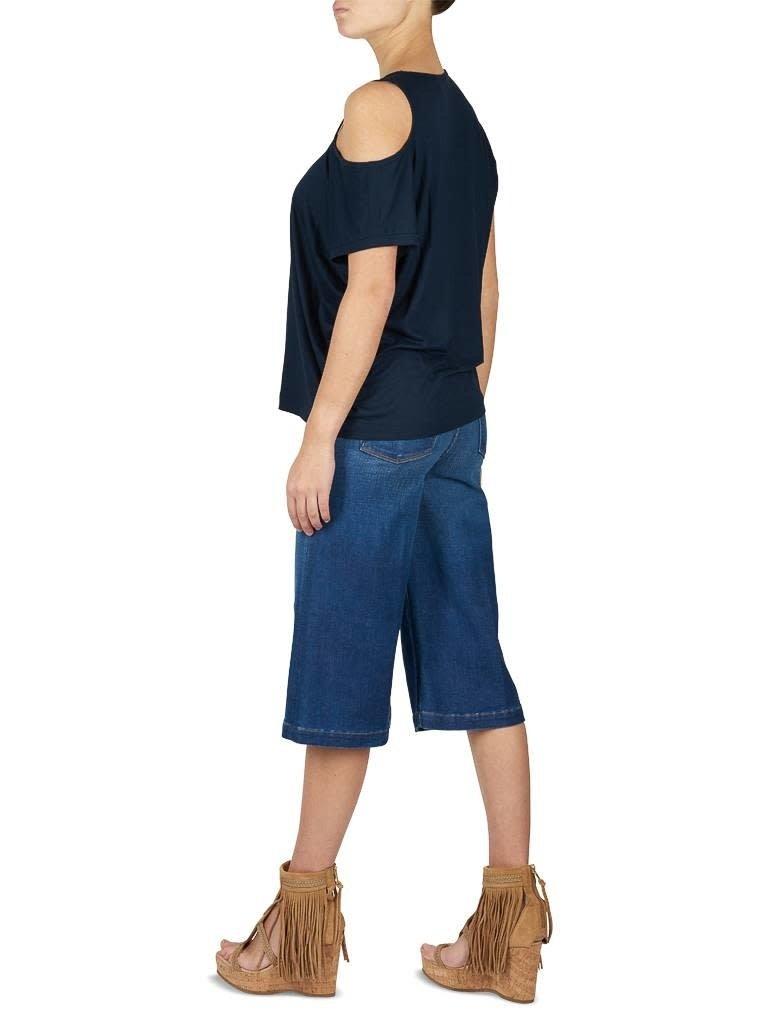 Frame Denim Frame Denim Le Gaucho culotte blue