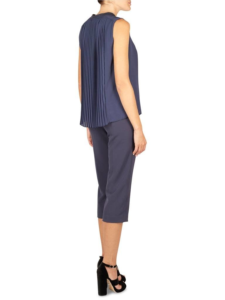 Atos Lombardini Cropped trousers blue