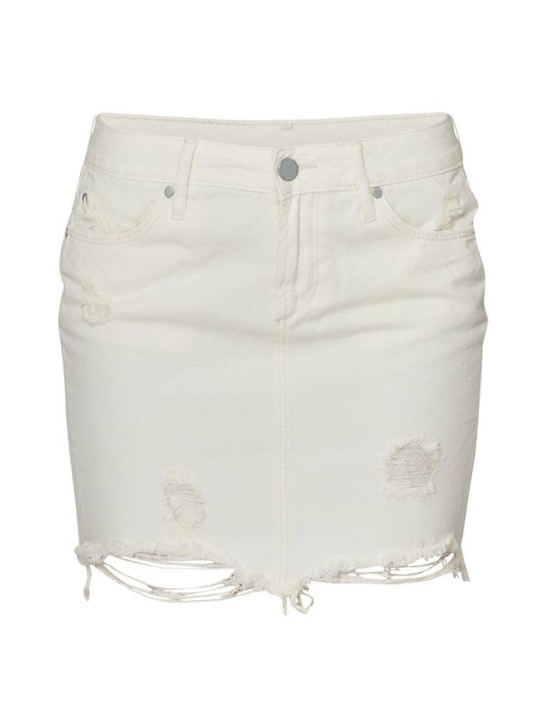 Articles Of Society Articles of Society Stacey Riga ripped mini skirt off white