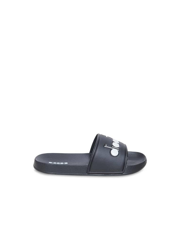 Diadora Diadora slipper zwart