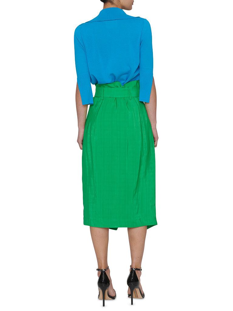 Erika Cavallini Erika Cavallini top with 3/4 sleeve blue
