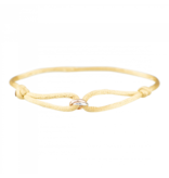 Goldbandits GoldBandits cord bracelet What comes around rose gold white gold