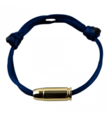 Goldbandits GoldBandits cord bracelet I'm bulletproof yellow gold