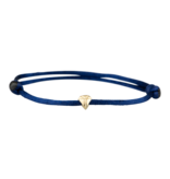Goldbandits GoldBandits cord bracelet diamond yellow gold