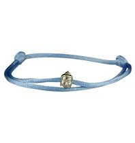 Goldbandits GoldBandits koord armband buddha witgoud