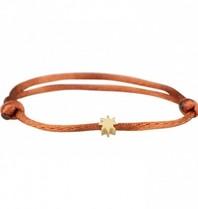 Goldbandits GoldBandits cord bracelet sun yellow gold