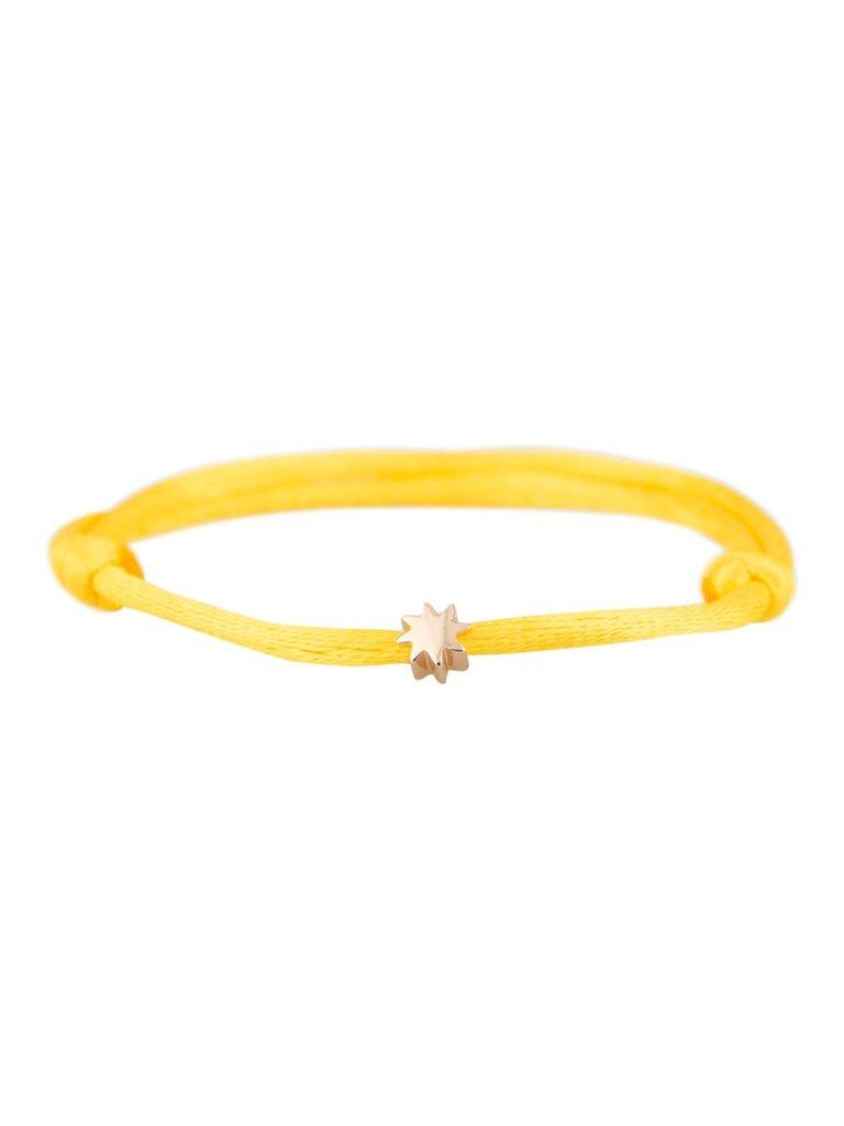 Goldbandits GoldBandits cord bracelet sun rose gold