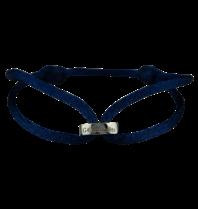 Goldbandits GoldBandits cord bracelet Make A Statement white gold
